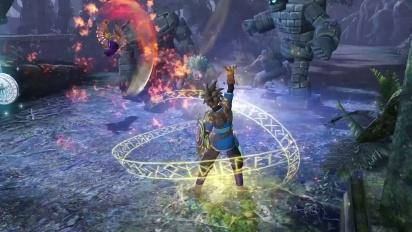 Dragon Quest Heroes - Der Tyrann der Tiefe und die bekannten Helden Trailer