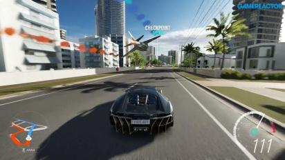 Forza Horizon 3 - Gameplay Showcase Event - High Rise Rush - Fighter Jet vs. 2016 Lamborghini Centenario LP 770-4