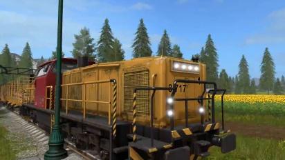 Landwirtschafts-Simulator 17 - Die Züge rollen - Gameplay