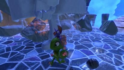 Yooka-Laylee -  Gameplay aus Glitter Glaze Glacier