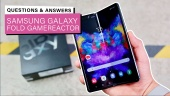 Samsung Galaxy Fold - Q&A mit Gamereactor