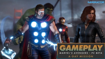 Marvel's Avengers - Mission ''A-Day'' (Gameplay aus der PC-Beta)