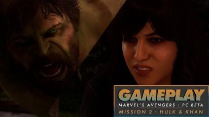 Marvel's Avengers - Gameplay aus der PC-Beta mit Hulk & Kamala Khan
