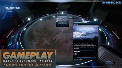 Marvel's Avengers - Mission ''Snowy Tundra'' & HARM-Tutorial (Gameplay aus der PC Beta)