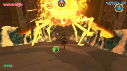 The Legend of Zelda: Skyward Sword HD - Kompletter Bosskampf gegen Beradama