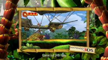 Donkey Kong Country Returns 3D - Brian Blessed TV Ad