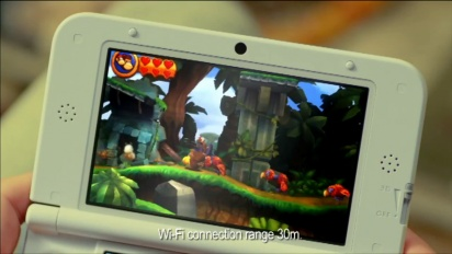 Donkey Kong Country Returns 3D - Live Action TV Ad