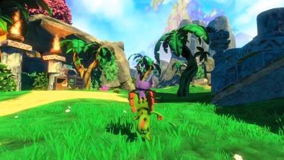 Yooka-Laylee - Gameplay aus Tribalstack Tropics
