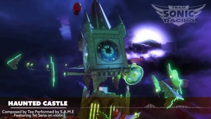 Team Sonic Racing - Haunted Castle OST Trailer