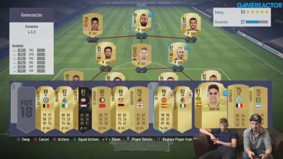 FIFA 18 - Gamereactors ultimatives FIFA-Team (#5)
