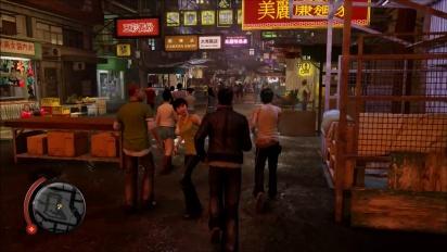 Sleeping Dogs - Definitive Edition Gameplay: Nightmarket Combat