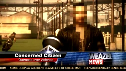 GTA IV: Lost and Damned - Weazel News Special Report trailer