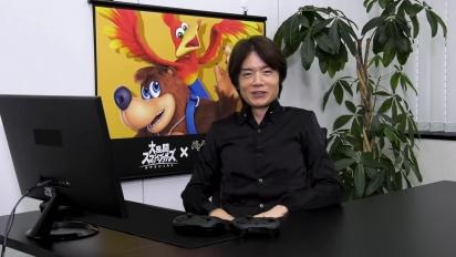 Super Smash Bros. Ultimate - Mr. Sakurai Presents 'Banjo & Kazooie'