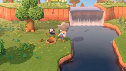 Animal Crossing: New Horizons - Deserted Island Gameplay