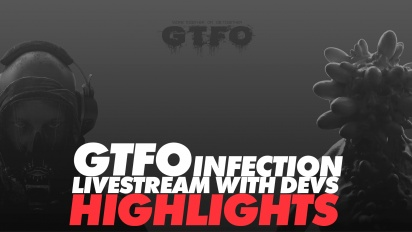 GTFO - Infection-Rundown mit den Entwicklern (Highlights aus dem Livestream)