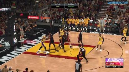 NBA 2K21 - Finale zwischen LA Lakers und Miami Heat (Gameplay-Highlights)