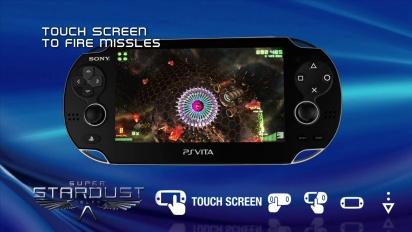 Super Stardust Delta - PS Vita Trailer