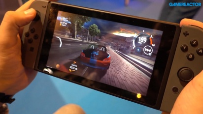 Gear Club Unlimited - Off-Screen-Gameplay der Nintendo Switch