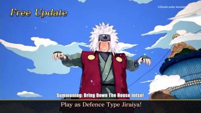 Naruto to Boruto: Shinobi Striker - Jiraiya Free Update