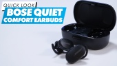 Bose QuietComfort Earbuds: Quick Look