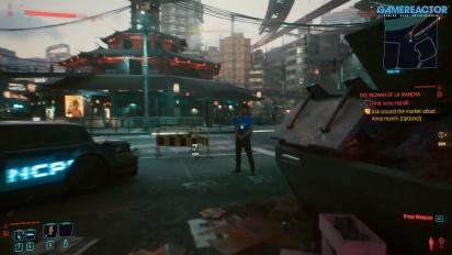 Cyberpunk 2077 - Auswirkung von Multiple-Choice-Elementen demonstriert