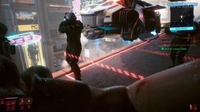 Cyberpunk 2077 - Erste Mission als Nomad