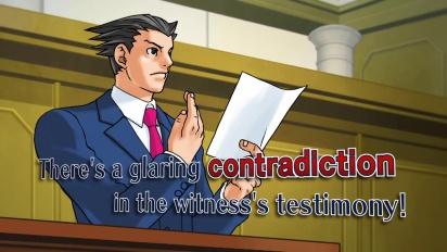 Phoenix Wright: Ace Attorney Trilogy - E3 Trailer