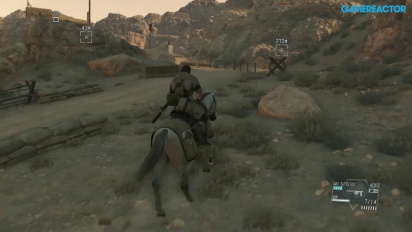 Metal Gear Solid V: The Phantom Pain - Gameplay - Mission 13: Extract the Highly-Skilled Soldier 03 (Komplette Mission)