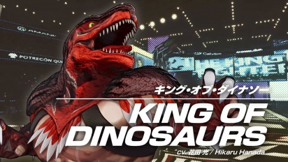 The King of Fighters XV - King of Dinosaurs Reveal