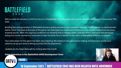 Battlefield 2042 wurde auf den 19. November verschoben