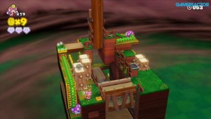 Captain Toad: Treasure Tracker - Gameplay - Mission 2-2: Stumper Sneakaround