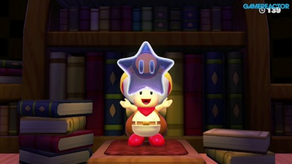 Captain Toad: Treasure Tracker - Gameplay - Mission 1-7: Spinwheel Library