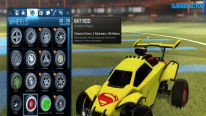 Rocket League - DC-Heroes-DLC