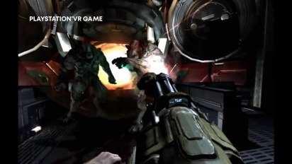 Doom 3 VR Edition - PSVR Announce Teaser Trailer