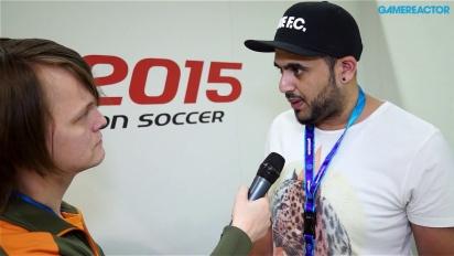 Pro Evolution Soccer 2015 - Interview Adam Bhatti