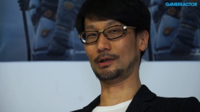 Hideo Kojima - Interview Nordic Game Kojima Productions