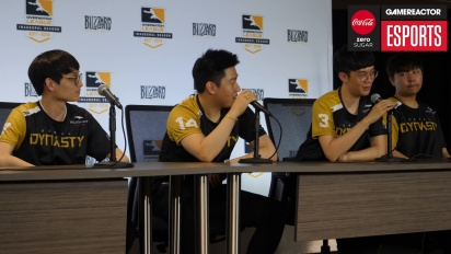 Overwatch League – Seoul Dynasty - Pressekonferenz (1. Tag)