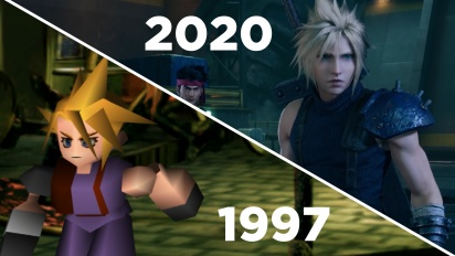 Final Fantasy VII: Remake vs. Original - Der Gamereactor-Gameplay-Vergleich