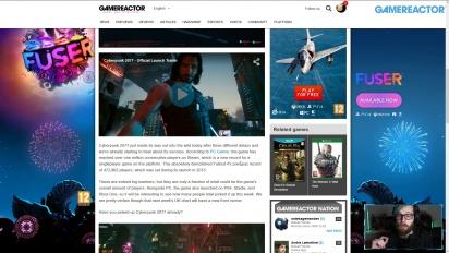 GRTV News - Cyberpunk 2077 ist zum Start auf Steam beliebter als Valves Dauerbrenner