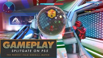 Splitgate - Das perfekte Team-Oddball-Match auf der PS5