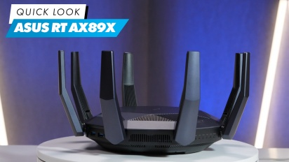 Asus RT-AX89X: Quick Look