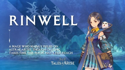 Tales of Arise - Rinwell Character Trailer