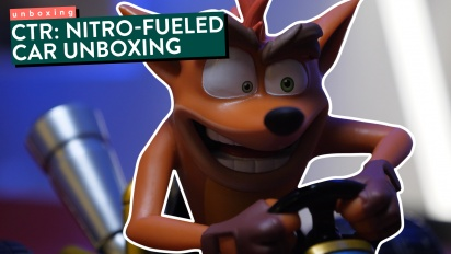 Crash Team Racing: Nitro-Fueled - Unboxing-Video (Modellauto)