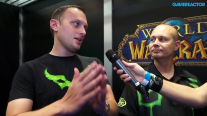 World of Warcraft: Legion - Interview Tom Chilton & Ion Hazzikostas