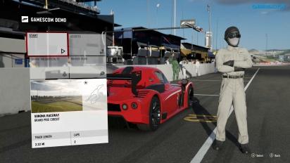 Forza Motorsport 7 - Sonoma Gameplay