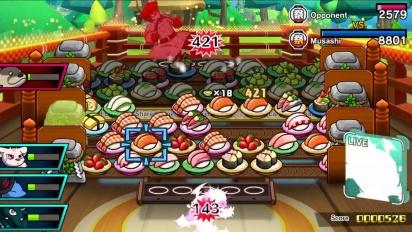 Sushi Striker: The Way of Sushido - Nintendo Direct Trailer