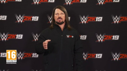 WWE 2K19 - AJ Styles Million Dollar Challenge Trailer