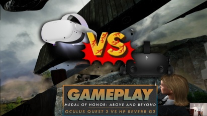 Medal of Honor: Above and Beyond - Grafikvergleich HP Reverb G2 vs. Oculus Quest 2