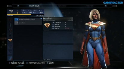 Injustice 2 - Mother-Kisten und Gear-Setup