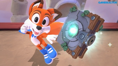 New Super Lucky's Tale - Switch-Gameplay